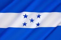 flag honduras Royaltyfria Foton