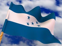 Flag. Honduras Royalty Free Stock Photo