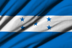 flag honduras Royaltyfri Bild