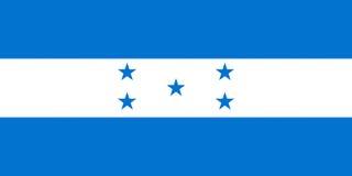 Flag of Honduras Royalty Free Stock Images