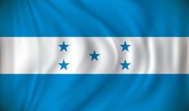 Flag of Honduras. Vector illustration Stock Images