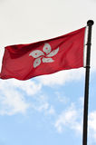 Flag of Hong Kong Stock Photo