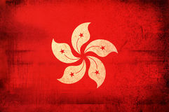 Flag of Hong Kong Royalty Free Stock Photo