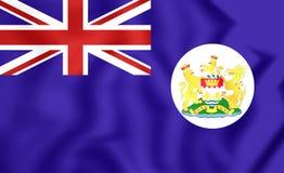 Flag of Hong Kong 1959-1997 Stock Images