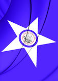 Flag of Houston Texas, USA. Royalty Free Stock Photos