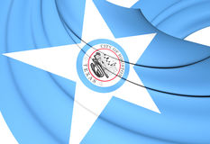 Flag of Houston, USA. Royalty Free Stock Photography