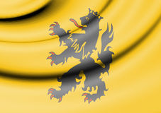 Flag of Hulst, Netherlands. Stock Photography