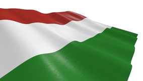 Flag of hungary Royalty Free Stock Images