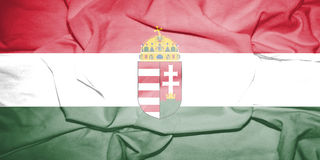 Flag of Hungary. Royalty Free Stock Photography