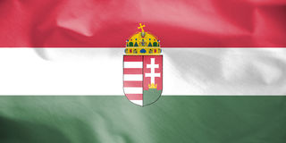 Flag of Hungary. Royalty Free Stock Image