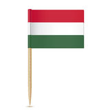 Flag of Hungary. Flag toothpick 10eps Royalty Free Stock Photography