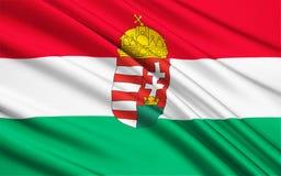 Flag of Hungary Royalty Free Stock Photo