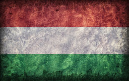 Flag of Hungary Royalty Free Stock Photos