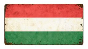 Flag of Hungary Stock Images