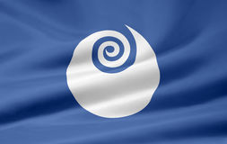 Flag of Ibaraki - Japan stock photos