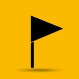 Flag icon design Stock Photo