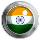 Flag icon design for India Royalty Free Stock Photo