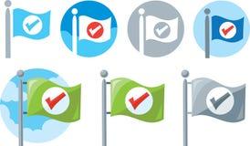 Flag Icon Stock Photos