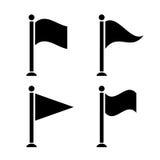Flag icon Stock Photography