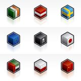 Flag Icons Set - Design Elements 56a Royalty Free Stock Image