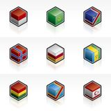 Flag Icons Set - Design Elements 56i Stock Photos