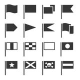 Flag Icons Set Stock Image