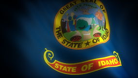 Flag of Idaho Stock Photography