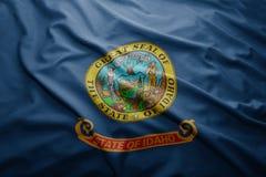 Flag of Idaho state Stock Photography
