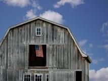 Free Flag In Barn Hay Loft Stock Photography - 5769992