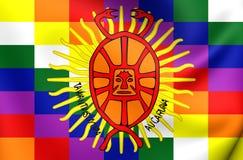 Flag of Inca Empire Royalty Free Stock Photo