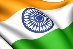 Flag of India Stock Image