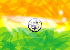 Flag india Royalty Free Stock Photography