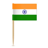 Flag of India toothpick Stock Photo