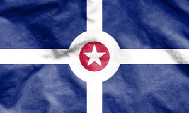 Flag of Indianapolis, USA. Royalty Free Stock Images