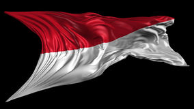 Flag of Indonesia Royalty Free Stock Photos