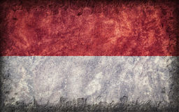Flag of Indonesia Stock Image