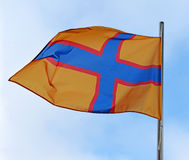 Flag of Ingermanland Royalty Free Stock Photos