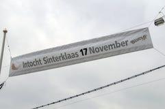 Flag Intocht Sinterklaas 17 November At Diemen The Netherlands 2018 royalty free stock photos