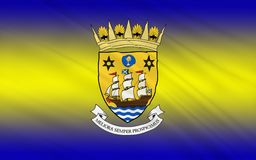 Flag of Inverclyde council of Scotland, United Kingdom of Great. Flag of Inverclyde is one of 32 council areas used for local government in Scotland stock images