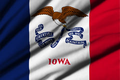 Flag of Iowa Stock Photography