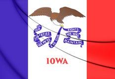 Flag of Iowa, USA. Stock Images