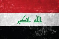 flag irakier Fotografering för Bildbyråer