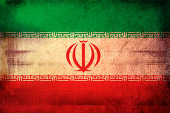 Flag of iran Royalty Free Stock Photography