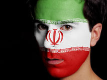 Flag of Iran Stock Image