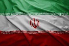 Flag of Iran Royalty Free Stock Photo