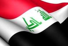 Flag of Iraq Stock Image