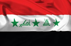 Flag of Iraq Royalty Free Stock Images