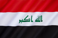 Flag of Iraq Stock Image