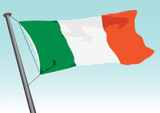Flag Of Ireland Royalty Free Stock Image