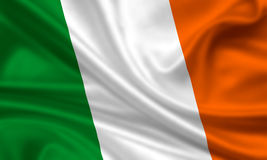 Flag of Ireland Royalty Free Stock Photo